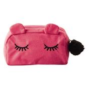 Toiletry Bag Cat Pink