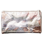 Toiletry Bag World Map Small