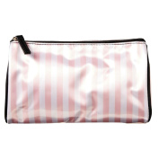 Toiletry Bag Stripe Pink Small