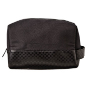 Toiletry Bag Mens Large Base with Handle Black