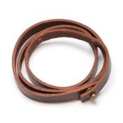 Brown 60cm . Leather Bracelet
