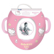 Hello Kitty Kids Padded Toilet Training Seat with Handles