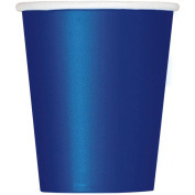270ml Paper Navy Blue Cups, 14ct