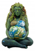 Ebros Gift Millennial Gaia Earth Mother Goddess Te Fiti Statue 18cm Tall By Oberon Zell
