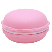 Macaron Shape Jewellery Box Candy Jewellery Storage Organiser Pill Case Container for Rings, Necklace, Earrings, Candy and Earphones