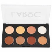 LaRoc 8 Colour Contour Contouring Correcting Concealer Makeup Palette Kit Set - Cream