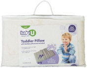 Baby U Memory Foam Toddler Pillow w/ Bamboo Pillowcase