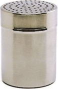 Genware NEV-8003 Large Shaker with Plastic Cap, Stainless Steel, 4 mm Hole