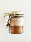 P.F. Candle Co. Scented Soy Candle and Matchbook