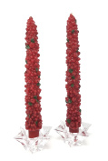 Berry Tree Taper Candle 25cm MB0060