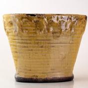 Luscious Lemon Vanilla Vintage Vase Swan Creek Candle (Colour