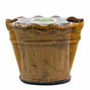 Southern Sweet Tea Ruffled Vase Swan Creek Candle (Colour