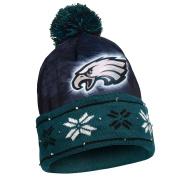 NFL Big Logo Light Up Printed Beanie Knit Cap