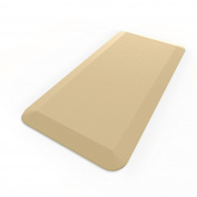 Royal Anti-Fatigue Comfort Mat - 50cm x 100cm x 1.9cm - Ergonomic Multi Surface, Non-Slip - Waterproof All-Purpose Luxurious Comfort - For Kitchen, Bathroom or Workstations - Sand Beige