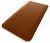 Royal Anti-Fatigue Comfort Mat - 50cm x 100cm x 1.9cm - Ergonomic Multi Surface, Non-Slip - Waterproof All-Purpose Luxurious Comfort - For Kitchen, Bathroom or Workstations - Brown
