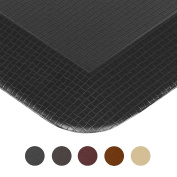 Royal Anti-Fatigue Comfort Mat - 50cm x 80cm x 1.9cm Thick Cushioned - Multi Surface All-Purpose Luxurious Comfort - For Kitchen, Bathroom or Workstations -
