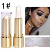 Vanvler Highlighter Stick Makeup Liquid 3 Colours Face Concealer Pen Dark Circles Cream 3D