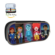 Thimbleweed Park Pencil Case Pen Bag Makeup Pouch Durable Students Best Choice Customised Stationery With Double Zipper