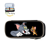 TOM AND JERRY Pencil Case Pen Bag Makeup Pouch Stationery
