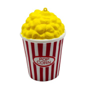 Top Cheer 1pc Release Stress Popcorn Scented Slow Rising Toy Charms Soft Squishy
