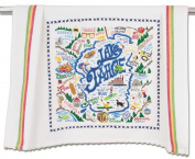 LAKE TAHOE DISH TOWEL - CATSTUDIO