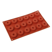 BetterM 8 Grids Silicone Donut Mould, Baking Mould Cookie Cutter