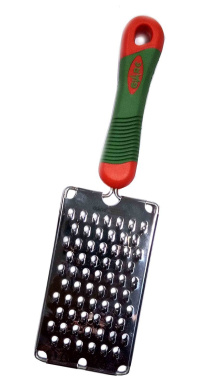 Thanks Giving Gift for your Loved Ones Vegetable Kitchen Grater/ Cheese Shredder with Grip Handle,Stainless Steel Blade