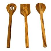 Olive Wood Utensil Set