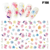 Vinjeely Women Nail Art Nial Sticker Halloween Designs Girl Beauty Nail Tools(1Pcs)
