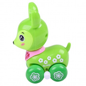 Clockwork Toy ,Mumustar Cartoon Sika Deer Educational Learning Funny Racing Car Wind Up Truck Vehicle Toy Colour Random