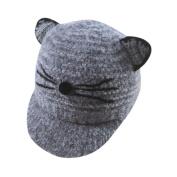 HKFV Superb Amazing Design Cute Cat Style Cute Baby Kids Girls Boys Cartoon Cat Big Ears Hat Warm Cap Hat Charming Kids Hats