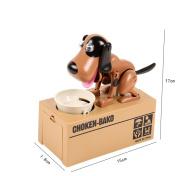 Electronic Pets Toys Robotic Dog Money Box Money Bank Automatic Stolen Coin Saving Bo