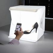 SUNDELY® HOT~Light Room Photo Studio Photography Lighting Tent Kit Backdrop Cube Box 40cm