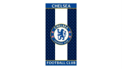 Chelsea FC Beach/Bath Towel – 100% Cotton 70 x 140 cm Blue