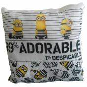 Despicable Me 0.9m99% Adorable' Cushion 30cm