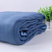 WYFC Double - sided cashmere blanket skin - friendly warm - keeping office plush blanket winter nap blanket summer
