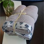 WYFC Cover blanket bead edge bead mesh can not fall blanket home blanket winter nap children cover blanket