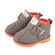 Inverlee Infant Toddler Kids Winter Warm Snow Boots Baby Girls Boys Leather Shoes Martin Outdoor Shoes