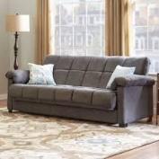 Home Children's Furniture & Bedding Minter Upholstered Sleeper Sofa Grey