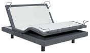 iDealBed Reverie 7S Adjustable Bed Base, Wireless, Wall Hugger, Massage, Bluetooth, Zero-Gravity, Full