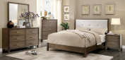 Callcott Modish Leather PU Platform Full Bed - White