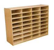 32-Letter Tray Storage Unit