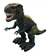 Prehistoric Dinosaurs Tyranosaurus Rex Battery Operated Walking Roaring 21cm Tex Rex Lights & Sound Plastic Figure