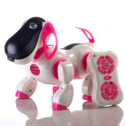 Children's Smart Robot Dog Sing Dance Walking Talking Dialogue Cute Pet Toy w/ Infrared Remote Control …