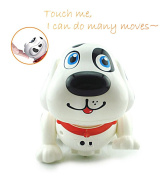 Electronic Pet Dog, Touch with Chasing, Walking, Dancing, Music, Interactive and Induction Toys for Boys or Girls Toddler Gifts