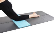 """Yoga Knee Pad by Heathyoga, Great for Knees and Elbows While Doing Yoga and Floor Exercises, Kneeling Pad for Gardening, Yard Work and Baby Bath. 70cm x 25cm x½"""""""