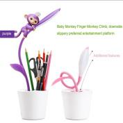 CieKen USB LED Night Light Pen Holder Dimmable Eye-caring Bedroom Table Kid Gifts Creative Toy Monkey Climbing Entertaint Platform For Finger Monkey