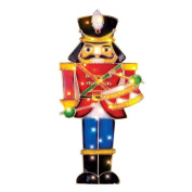 Lighted Nutcracker Soldier Christmas Decoration