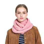 Women Scarf, Xinantime Winter Solid Woollen Warm Collar Tassel Shawl Soft Neck Scarf