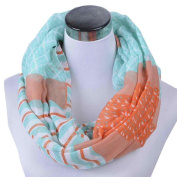 Women Lady Scarves, Xinantime Shawl Geometric Printing Infinity Scarves
